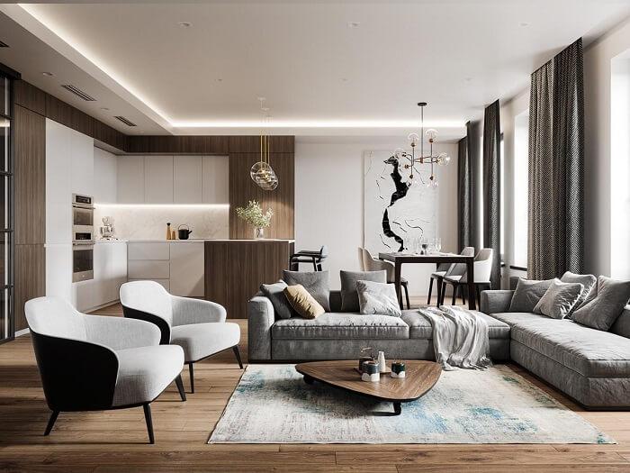 Top 10 Thiết kế nội thất căn hộ chung cư đẹp kinh điển