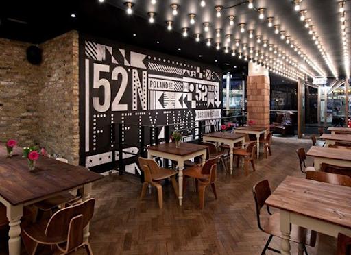 Thiết kế nhà hàng sang trọng kết hợp quán cafe
